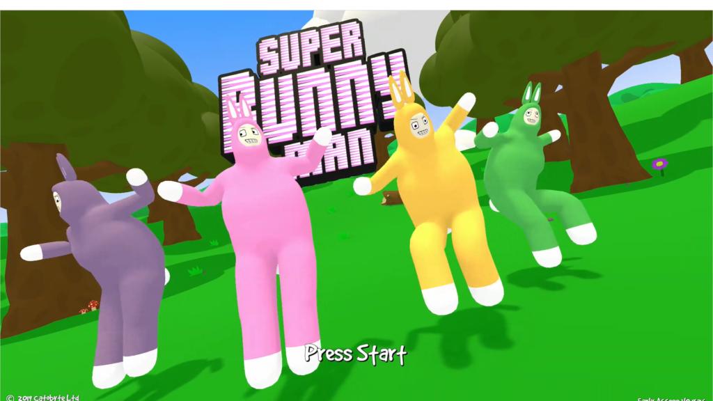 スーパー バニー マン スイッチ Steam:Super Bunny